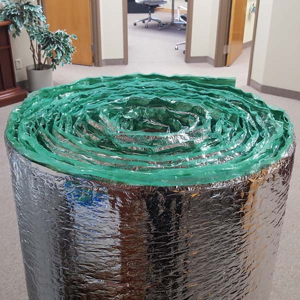 hvac pipe insulation bubble foil insulapack